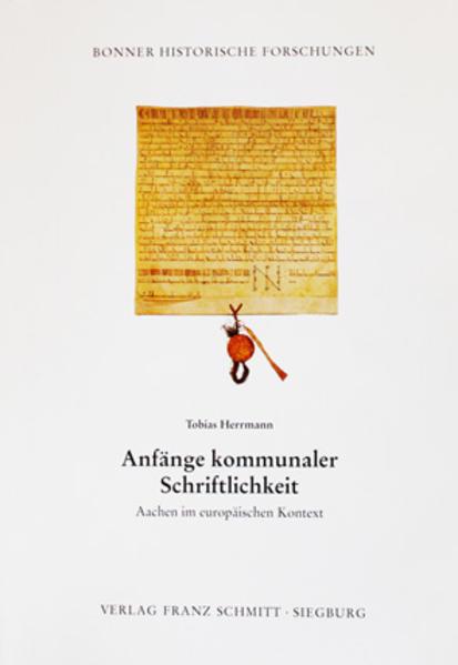 Anfänge kommunaler Schriftlichkeit - Coverbild