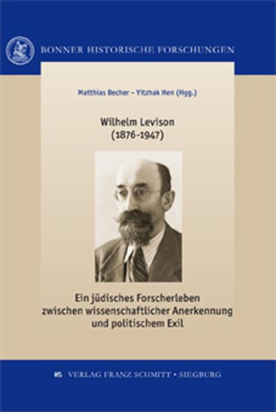 Wilhelm Levison - Coverbild