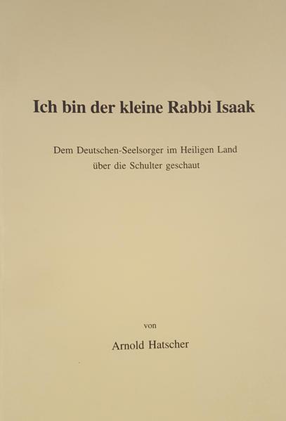 Ich bin der kleine Rabbi Isaak - Coverbild