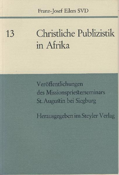Christliche Publizistik in Afrika - Coverbild