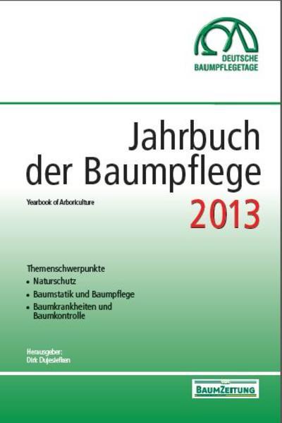 Jahrbuch der Baumpflege 2013 - Coverbild