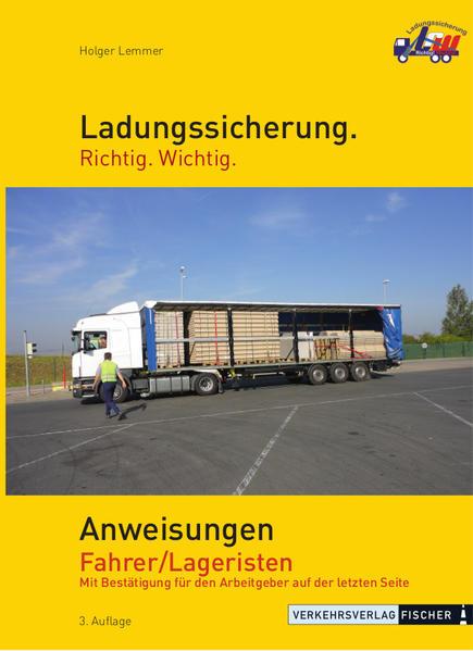 Anweisungen Fahrer / Lageristen - Coverbild