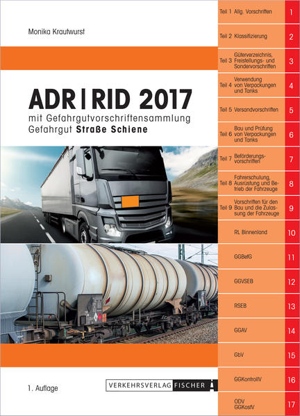 ADR / RID 2017 - Coverbild