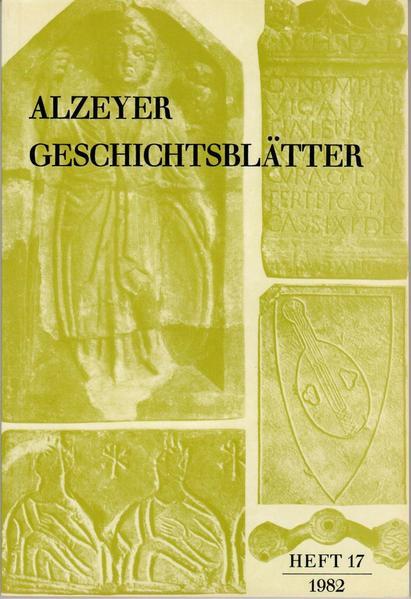 Alzeyer Geschichtsblätter - Coverbild