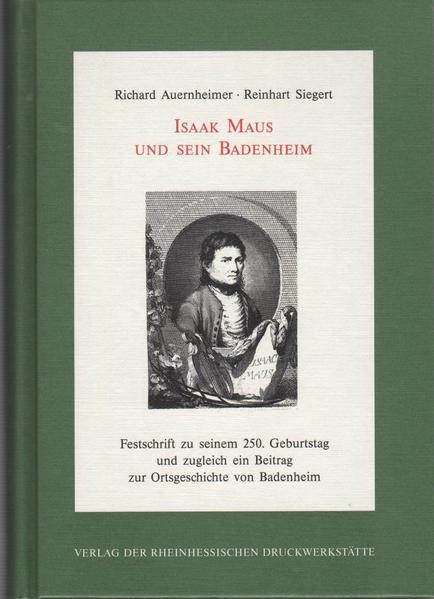 Isaak Maus und sein Badenheim - Coverbild