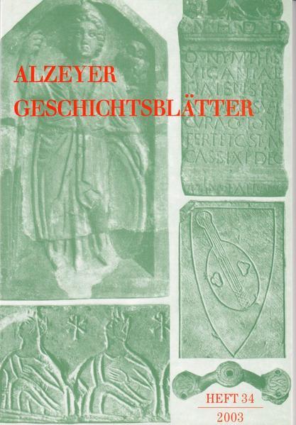 Alzeyer Geschichtsblätter / Alzeyer Geschichtsblätter - Coverbild