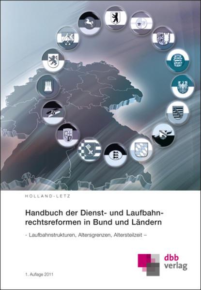 Handbuch der Dienst- und Laufbahnrechtsreformen in Bund und Ländern - Coverbild
