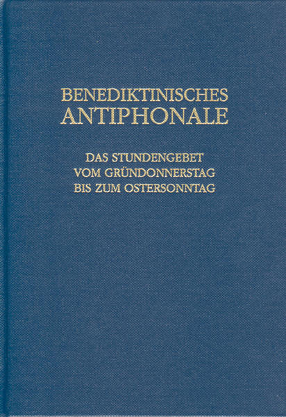 Benediktinisches Antiphonale - Coverbild