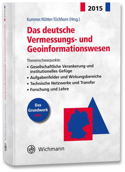 Das deutsche Vermessungs- und Geoinformationswesen 2015 - Coverbild