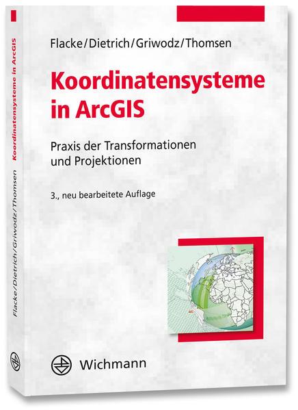 Koordinatensysteme in ArcGIS - Coverbild