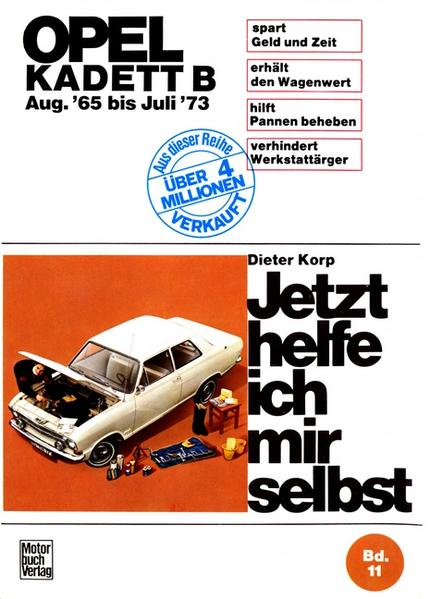 Opel Kadett B   ab August '65 - Coverbild