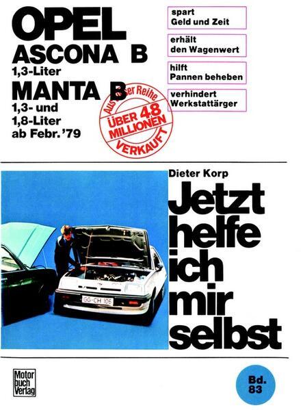 Opel Ascona/Manta B  1,3 Liter ab Februar '79 - Coverbild