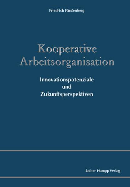 Kooperative Arbeitsorganisation - Coverbild