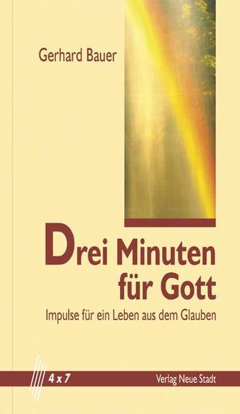 Drei Minuten für Gott - Coverbild