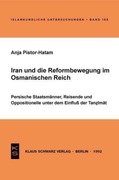 Iran und die Reformbewegung im Osmanischen Reich - Coverbild