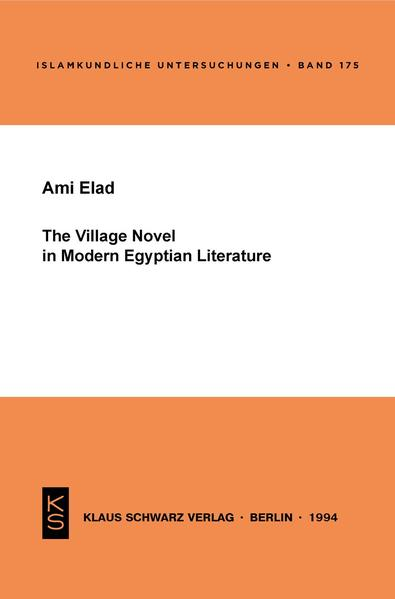 The Village Novel in Modern Egyptian Literature - Coverbild