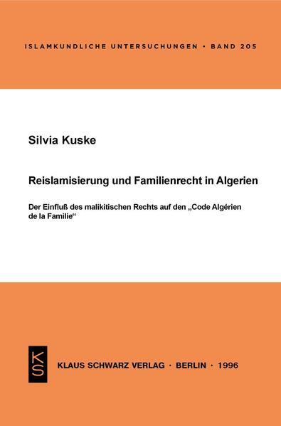 Reislamisierung und Familienrecht in Algerien - Coverbild