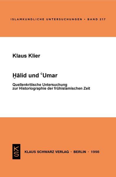 Halid und 'Umar - Coverbild