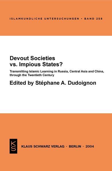 Devout Societies vs. Impious States ? - Coverbild