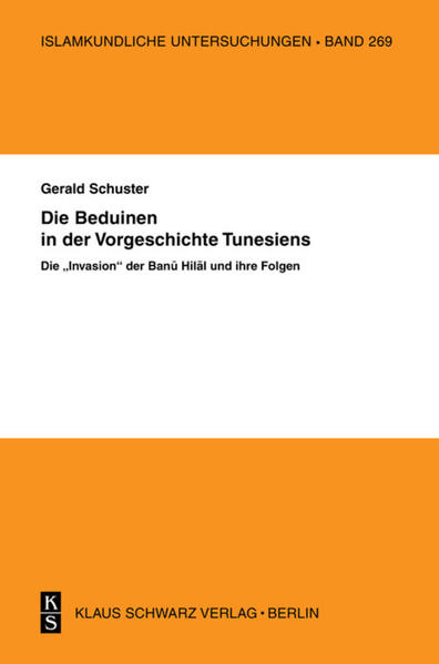Die Beduinen in der Vorgeschichte Tunesiens - Coverbild