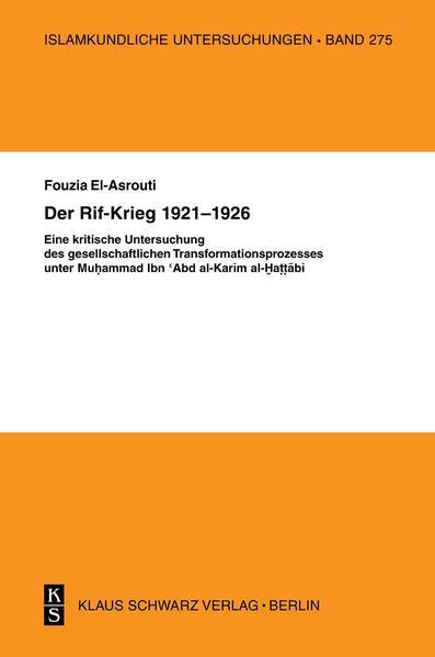 Der Rif-Krieg 1921-1926 - Coverbild