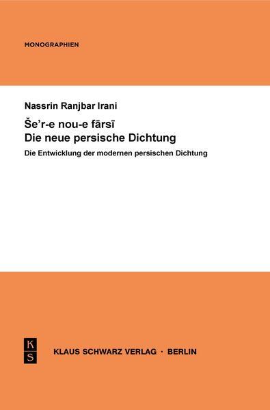 Die Entwicklung der modernen persischen Dichtung - Coverbild
