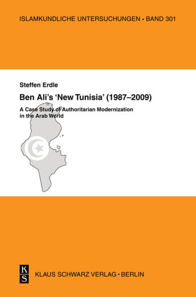 Ben Ali's 'New Tunisia'  (1987-2009) - Coverbild