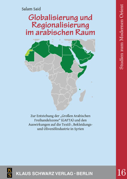 Globalisierung und Regionalisierung im arabischen Raum. - Coverbild
