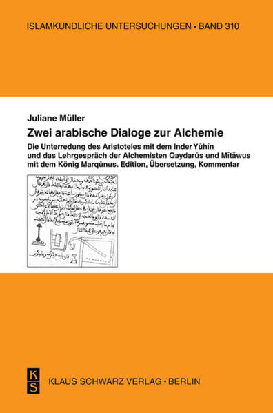 Zwei arabische Dialoge zur Alchemie - Coverbild