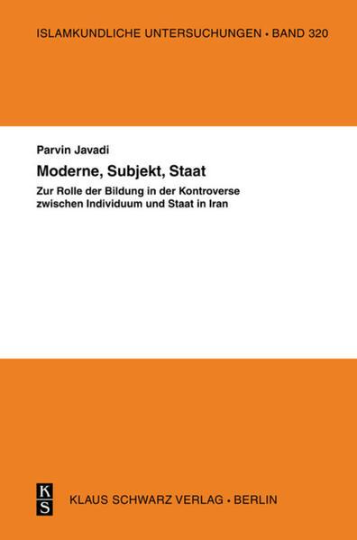 Moderne, Subjekt, Staat - Coverbild