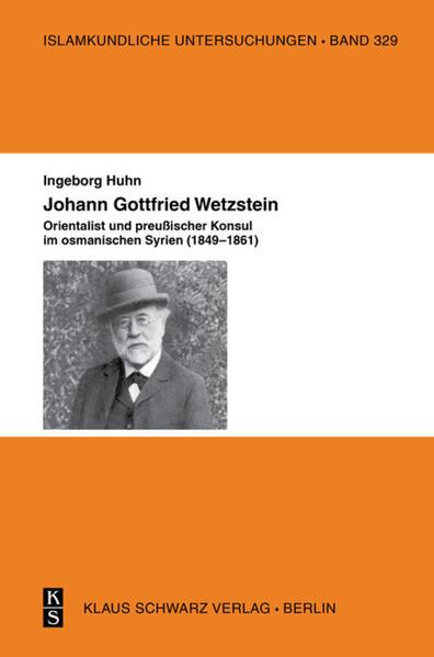 Johann Gottfried Wetzstein - Coverbild