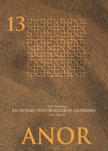 An Enquiry into Bukharan Qadimism: Mirza Salim-bik - Coverbild