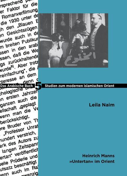 Heinrich Manns Untertan im Orient - Coverbild