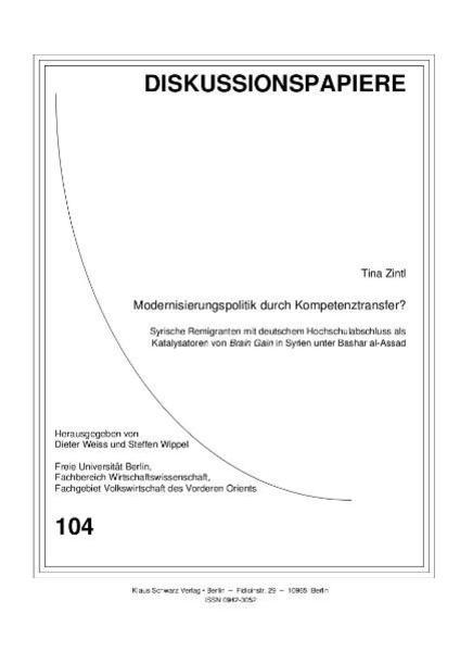 Modernisierungspolitik durch Kompetenztransfer? - Coverbild
