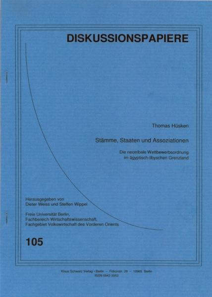 Stämme, Staaten und Assoziationen - Coverbild
