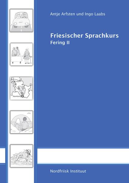 Friesischer Sprachkurs, Fering II mit CD - Coverbild
