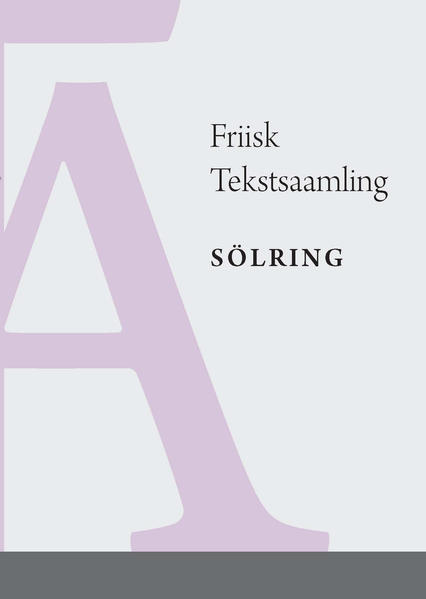 Friisk Tekstsaamling  - Sölring - Coverbild