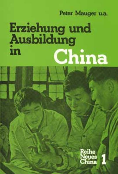 Erziehung und Ausbildung in China - Coverbild