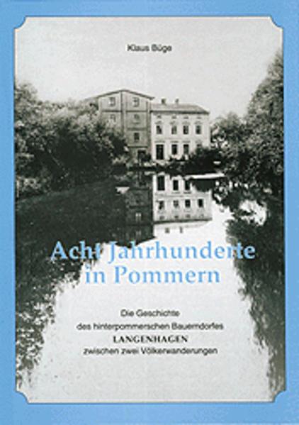 Acht Jahrhunderte in Pommern - Coverbild