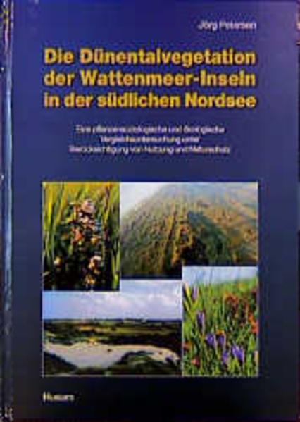 Die Dünentalvegetation der Wattenmeer-Inseln in der südlichen Nordsee - Coverbild