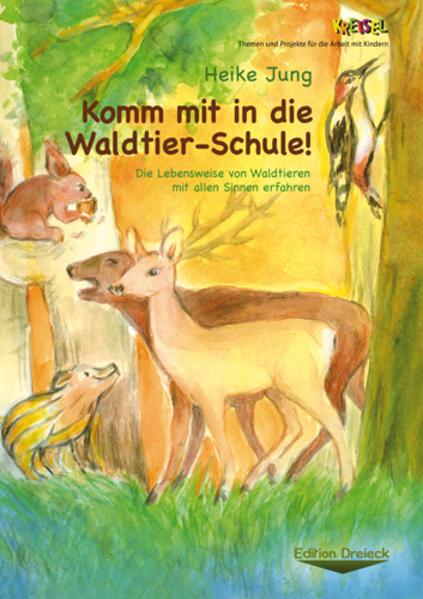 Komm mit in die Waldtier-Schule! - Coverbild