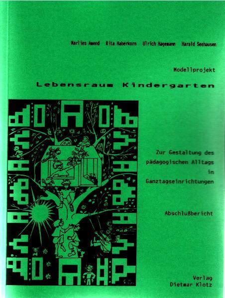 Modellprojekt Lebensraum Kindergarten - Coverbild