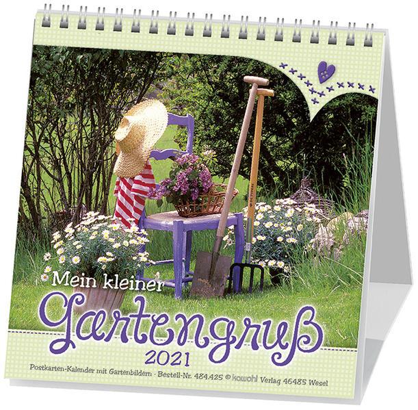 Mein kleiner Gartengruß 2017 - Coverbild