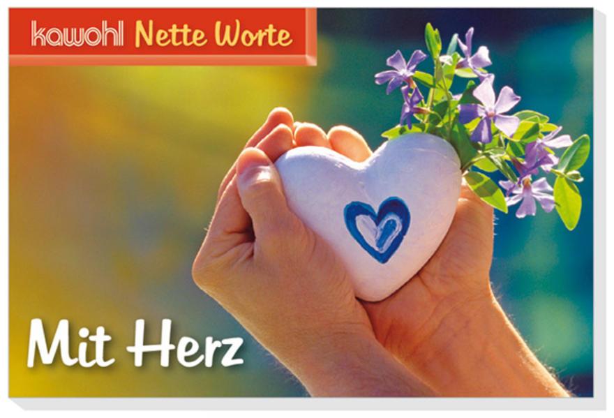 Nette Worte - Mit Herz - Coverbild