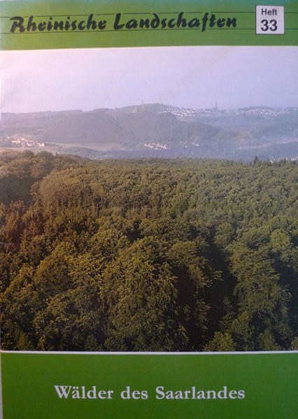 Wälder des Saarlandes - Coverbild