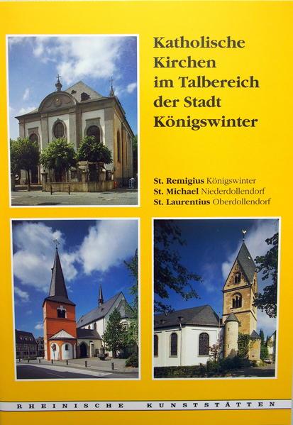 Katholische Kirchen im Talbereich der Stadt Königswinter - Coverbild