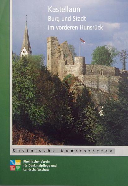 Kastellaun. Burg und Stadt im vorderen Hunsrück - Coverbild