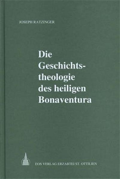 Die Geschichtstheologie des heiligen Bonaventura - Coverbild