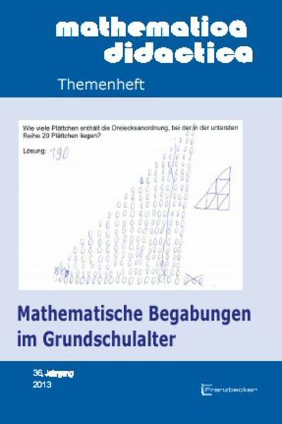 Mathematische Begabungen im Grundschulalter - Coverbild