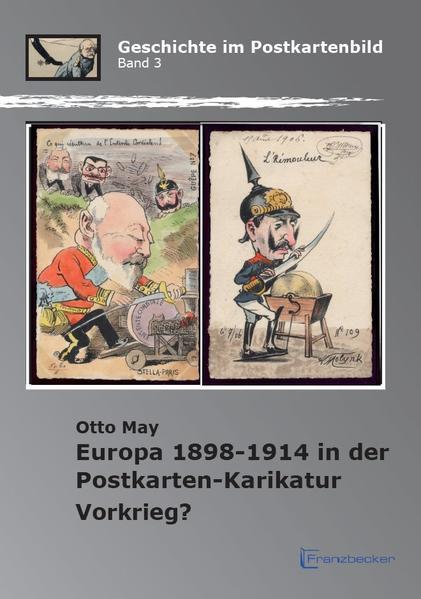 Europa 1898-1914 in der Postkarten-Karikatur - Coverbild